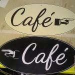 Café siellä, Café täällä